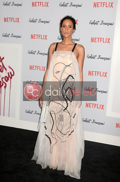 "Zawe Ashton<br /> at the ""Velvet Buzzsaw"" Los Angeles Premiere Screening, Egyptian Theater, Hollywood, CA 01-28-19<br /> David Edwards/DailyCeleb.com 818-249-4998"