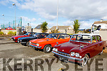 The vintage Ford cars on display at the Kerry Motors Works Tralee Fair in Banna on Sunday morning.
