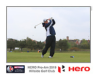 Playing with Ryan Fox (NZL) on the 10th tee during the Pro-Am of the Betfred British Masters 2019 at Hillside Golf Club, Southport, Lancashire, England. 08/05/19<br /> <br /> Picture: Thos Caffrey / Golffile<br /> <br /> All photos usage must carry mandatory copyright credit (&copy; Golffile | Thos Caffrey)