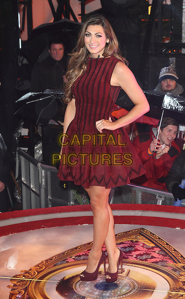 BOREHAMWOOD, ENGLAND - JANUARY 29: Luisa Zissman at the Celebrity Big Brother Final at Elstree Studios on January 29, 2014 in Borehamwood, England<br /> CAP/ROS<br /> &copy;Steve Ross/Capital Pictures