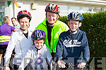 Noreen, Brid, Michael and Sean Fitzgerald  enjoying a family cycle at the Castleisland Day care centre cycle on Sunday