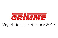 Grimme - Vegetables -  February 2016