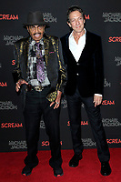 LOS ANGELES - OCT 24: Joe Jackson, John Branca at The Estate of Michael Jackson and Sony Music present Michael Jackson Scream Halloween Takeover at TCL Chinese Theatre IMAX on October 24, 2017 in Los Angeles, California