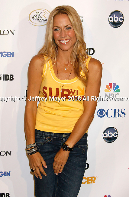 HOLLYWOOD, CA. - September 05: Musician Sheryl Crowe arrives at Stand Up For Cancer at The Kodak Theatre on September 5, 2008 in Hollywood, California.