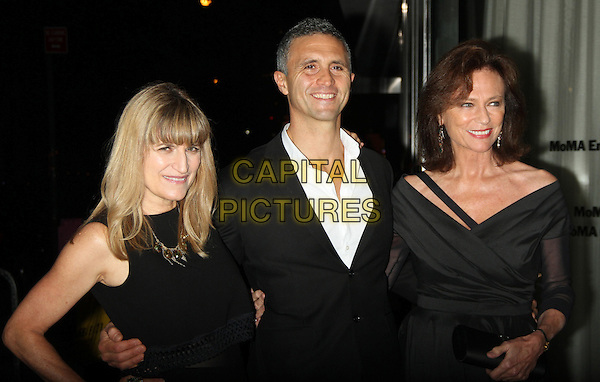 NEW YORK, NY - OCTOBER 25: Catherine Hardwicke, Chris Simon and Jacqueline Bisset at the Miss You Already film screening at the Museum of Modern Art in New York City on October 25, 2015. <br /> CAP/MPI/RW<br /> &copy;RW/MPI/Capital Pictures