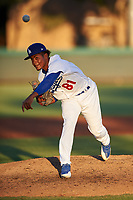 AZL Dodgers Lasorda starting pitcher Igor Avila (81) during an Arizona League game against the AZL Athletics Green at Camelback Ranch on June 19, 2019 in Glendale, Arizona. AZL Dodgers Lasorda defeated AZL Athletics Green 9-5. (Zachary Lucy/Four Seam Images)