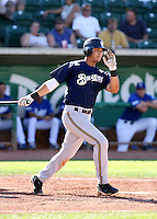 Chris Dennis / Helena Brewers in action against the Ogden Raptors in a Pioneer League game in Ogden, UT - 08/10/2008..Photo by:  Bill Mitchell/Four Seam Images