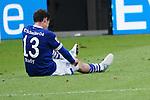 11.05.2019, BayArena, Leverkusen, GER, 1. FBL, Bayer 04 Leverkusen vs. FC Schalke 04 ,<br />  <br /> DFL regulations prohibit any use of photographs as image sequences and/or quasi-video<br /> <br /> im Bild / picture shows: <br /> Sebastian Rudy (FC Schalke #13),  ist fertig nach dem Spiel <br /> <br /> Foto &copy; nordphoto / Meuter