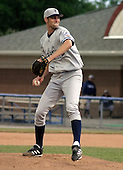 July 11, 2003:  Pitcher T.J. Beam of the Staten Island Yankees, Class-A affiliate of the New York Yankees, during a NY-Penn League game at Dwyer Stadium in Batavia, NY.  Photo by:  Mike Janes/Four Seam Images