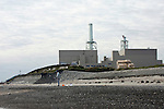 (FILE) A man fishes from the beach in front of Hamaoka Nuclear Power Plant in Omaezaki, Shizuoka Prefecture, Japan in 2007. The subject of much controversy, the Hamaoka nuclear facility is built directly over the subduction zone near the junction of two tectonic plates. Photographer: Robert Gilhooly