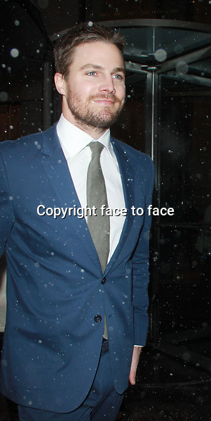 Jan. 21, 2014: Stephen Amell at SiriusXM to talk about the new season of CW Arrow in New York City.Credit:RW/MediaPunch Inc.<br /> Credit: MediaPunch/face to face<br /> - Germany, Austria, Switzerland, Eastern Europe, Australia, UK, USA, Taiwan, Singapore, China, Malaysia, Thailand, Sweden, Estonia, Latvia and Lithuania rights only -
