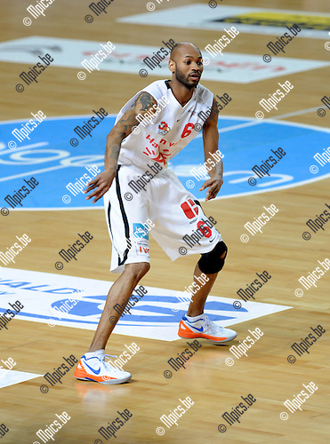2012-05-22 / Basketbal / seizoen 2011-2012 / Play-Offs / Antwerp Giants - Charleroi / Ralph Biggs..Foto: Mpics.be
