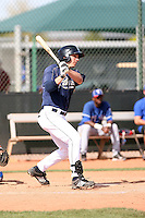 Chadd Hartman, San Diego Padres minor league spring training..Photo by:  Bill Mitchell/Four Seam Images.