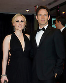 Anna Paquin and Stephen Moyer arrive for the 2012 White House Correspondents Association (WHCA) Annual Dinner at the Washington Hilton Hotel in Washington, D.C. on Saturday, April 28, 2012..Credit: Ron Sachs / CNP.(RESTRICTION: NO New York or New Jersey Newspapers or newspapers within a 75 mile radius of New York City)