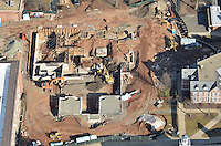 CCSU Aerial Photographs | New Academic & Office Building Construction 22 February 2012