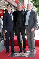 Jeff Goldblum, Norm Eisen, Ed Begley Jr.<br /> at the Jeff Goldblum Star on the Hollywood Walk of Fame Ceremony, Hollywood, CA 06-14-18<br /> David Edwards/DailyCeleb.com 818-249-4998