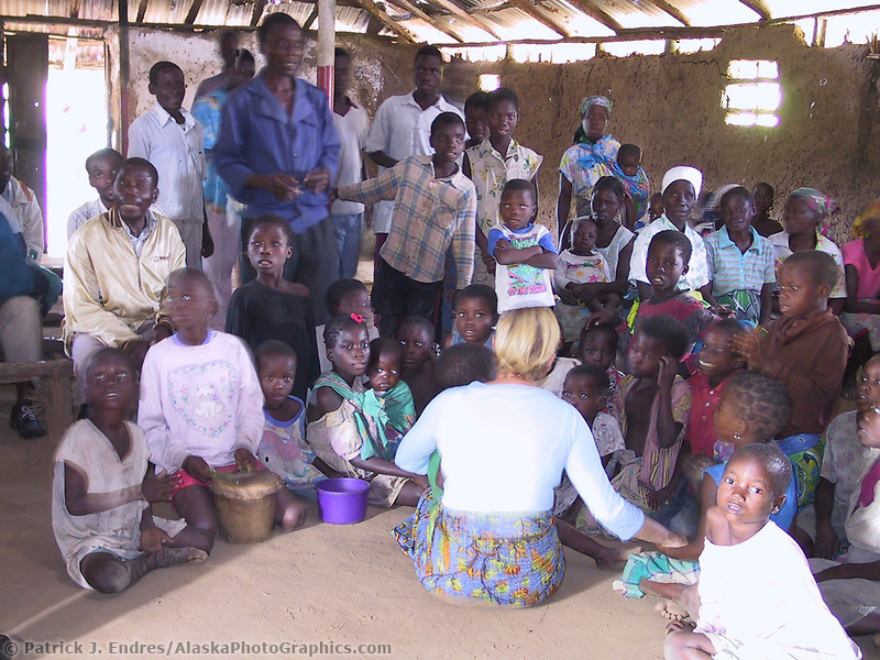 Marromeu village, Mozambique, AFRICA, Iris Ministries May 2001.