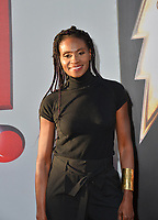 LOS ANGELES, CA. March 28, 2019: Adina Porter at the world premiere of Shazam! at the TCL Chinese Theatre.<br /> Picture: Paul Smith/Featureflash