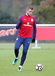 England's Eric Dier in action during training at Tottenham Hotspur training centre, London. Picture date November 14th, 2016 Pic David Klein/Sportimage