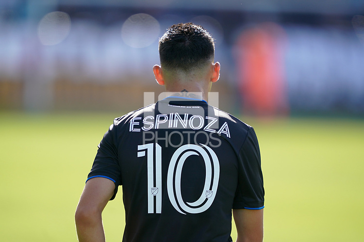 SAN JOSE, CA - FEBRUARY 29: Cristian Espinoza #10 of the San Jose Earthquakes during a game between Toronto FC and San Jose Earthquakes at Earthquakes Stadium on February 29, 2020 in San Jose, California.