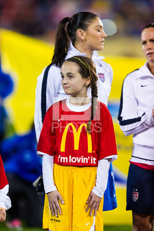 McDonald's Kids during an international friendly at Rentschler Field in East Hartford, CT, on October 23, 2012.