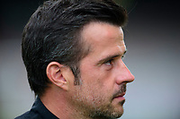 Everton manager Marco Silva during the pre-match warm-up<br /> <br /> Photographer Andrew Vaughan/CameraSport<br /> <br /> The Carabao Cup Second Round - Lincoln City v Everton - Wednesday 28th August 2019 - Sincil Bank - Lincoln<br />  <br /> World Copyright © 2019 CameraSport. All rights reserved. 43 Linden Ave. Countesthorpe. Leicester. England. LE8 5PG - Tel: +44 (0) 116 277 4147 - admin@camerasport.com - www.camerasport.com
