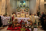 Israel, Galilee, the Feast of the Miracle of the Wine, the Beginning of the Signs of the Lord, at the Franciscan Wedding Church in Kafr Cana