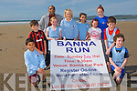BANNA RUN: Former member of St Brendan's AC and TV3 sports reporter Sinead Kissane launching the Banna Run with member's of the St Brendan's AC at Banna Strand on Saturday l-r: Aaron Malik, Denis Horgan, Shaz Malik (joint chairman Banna Run), Kate O'Shea, Sinead Kissane, Riadh Malik, Grannie Raggett, Katie O'Riordan and Niall and Conn Marley.