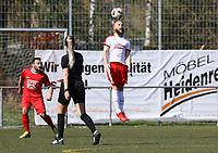 Yannick Walter (Büttelborn) - 07.04.2019: SKV Büttelborn vs. TSV Lengfeld, Gruppenliga Darmstadt