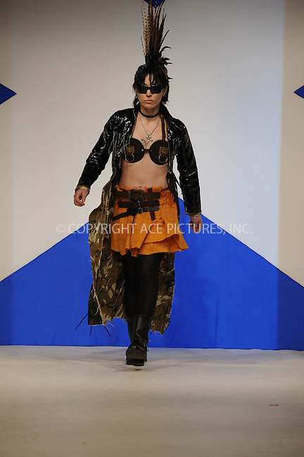WWW.ACEPIXS.COM . . . . . ....April 5 2010, New York City....Singer Joan Jett on the runway at the 8th annual 'Dressed To Kilt' Charity Fashion Show presented by Glenfiddich at M2 Ultra Lounge on April 5, 2010 in New York City.....Please byline: KRISTIN CALLAHAN - ACEPIXS.COM.. . . . . . ..Ace Pictures, Inc:  ..(212) 243-8787 or (646) 679 0430..e-mail: picturedesk@acepixs.com..web: http://www.acepixs.com