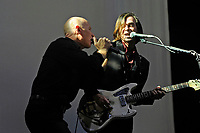 LONDON, ENGLAND - JUNE 5: Matt Johnson and Barrie Cadogan of 'The The' performing at Royal Albert Hall on June 5, 2018 in London, England.<br /> CAP/MAR<br /> &copy;MAR/Capital Pictures