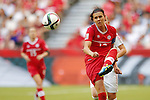 Christine Sinclair (CAN), JUNE 21, 2015 - Football / Soccer : <br /> FIFA Women's World Cup Canada 2015 Round of 16 match between Canada 1-0 Switzerland at BC Place Stadium, <br /> Vancouver, Canada. (Photo by Yusuke Nakansihi/AFLO SPORT)