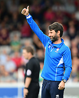 Lincoln City manager Danny Cowley<br /> <br /> Photographer Chris Vaughan/CameraSport<br /> <br /> The EFL Sky Bet League Two - Lincoln City v Morecambe - Saturday August 12th 2017 - Sincil Bank - Lincoln<br /> <br /> World Copyright &copy; 2017 CameraSport. All rights reserved. 43 Linden Ave. Countesthorpe. Leicester. England. LE8 5PG - Tel: +44 (0) 116 277 4147 - admin@camerasport.com - www.camerasport.com