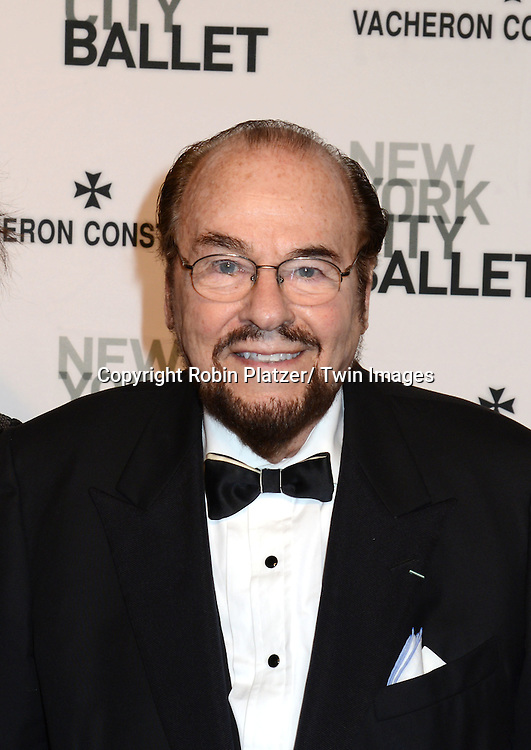James Lipton attends the New York City Ballet Spring 2014 Gala on May 8, 2014 at David Koch Theatre in Lincoln Center in New York City, NY, USA.