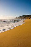 Montara Beach,.San Mateo Coast of California, south of San Francisco.  Photo copyright Lee Foster, 510-549-2202, lee@fostertravel.com, www.fostertravel.com. Photo 403-31216