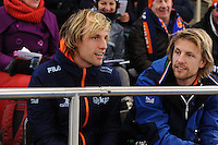 SPEEDSKATING: BERLIN: Sportforum Berlin, 28-01-2017, ISU World Cup, Ronald en Michel Mulder (NED), ©photo Martin de Jong