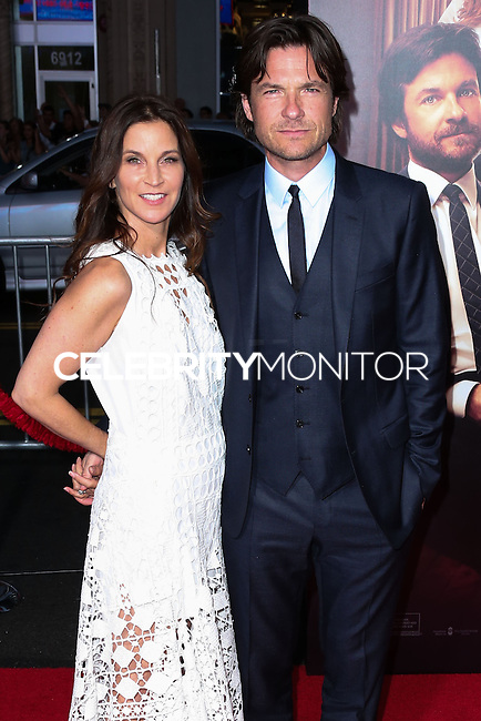 HOLLYWOOD, LOS ANGELES, CA, USA - SEPTEMBER 15: Amanda Anka and Jason Bateman arrive at the Los Angeles Premiere Of Warner Bros. Pictures' 'This Is Where I Leave You' held at the TCL Chinese Theatre on September 15, 2014 in Hollywood, Los Angeles, California, United States. (Photo by Xavier Collin/Celebrity Monitor)