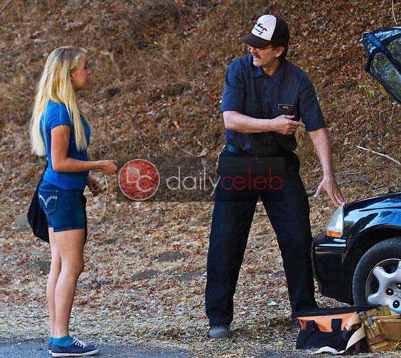 Evie Thompson, Michael Biehn<br />