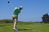 Trevor Fisher Jnr (RSA) on the 6th tee during Round 3 of the Rocco Forte Sicilian Open 2018 played at Verdura Resort, Agrigento, Sicily, Italy on Saturday 12th May 2018.<br /> Picture:  Thos Caffrey / www.golffile.ie<br /> <br /> All photo usage must carry mandatory copyright credit (&copy; Golffile   Thos Caffrey)