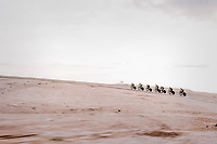 TTT training at dawn at the Circuito de Almeria Fans<br /> <br /> Michelton-Scott training camp in Almeria, Spain<br /> february 2018