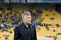 Ufuk Talay of Wellington Phoenix Coach during the A League - Wellington Phoenix v Western United FC at Sky Stadium, Wellington, New Zealand on Friday 21 February 2020. <br />