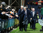 England manager Roy Hodgson given a warm welcome by the Preston fans - FA Cup Fifth Round - Preston North End  vs Manchester Utd  - Deepdale Stadium - Preston - England - 16th February 2015 - Picture Simon Bellis/Sportimage