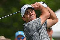 Francesco Molinari (ITA) watches his tee shot on 3 during round 2 of the 2019 Charles Schwab Challenge, Colonial Country Club, Ft. Worth, Texas,  USA. 5/24/2019.<br /> Picture: Golffile   Ken Murray<br /> <br /> All photo usage must carry mandatory copyright credit (© Golffile   Ken Murray)