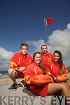 KEEPING WATCH: Banna lifeguards, James O'Callaghan, Ballyard  Katie, Listowel , James O'Connell, Tralee, Michelle Breen, Banna