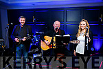 Tom Slattery, Joe O'Connor and Pam O'Connor at the The Troubadour Club in The Ashe Hotel on Friday night