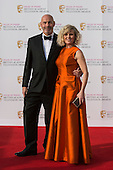 London, UK. 8 May 2016. Ashley Jensen. Red carpet  celebrity arrivals for the House Of Fraser British Academy Television Awards at the Royal Festival Hall.