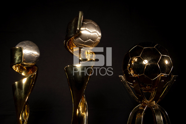 Chicago, Illinois -  July 09, 2015:  USWNT Fifa Women's World Cup Trophy