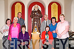 Padre Pio in Lixnaw: pictured at the Padre Pio Shrine in St. Michael's Church , Lixnaw are in front Ena O'Connell & Cathy Toomey. Back : Moira  Galvin, Marie Conway, Fr. Mossie Brick, Billy O'Reilly, Helen O'Carroll & Margaret Griffin.