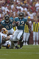 01 October 2006:  Jacksonville RB/KR Maurice Jones-Drew (32).  The Washington Redskins defeated the Jacksonville Jaguars 36-30 in OT at FedEx Field in Landover, MD.