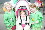 Mary Kiernan, Rebecca Doran and Aoife Kiernan at the 2011 St.Patrick's Day Parade in Dunleer...(Photo credit should read Jenny Matthews/www.newsfile.ie)....This Picture has been sent you under the conditions enclosed by:.Newsfile Ltd..The Studio,.Millmount Abbey,.Drogheda,.Co Meath..Ireland..Tel: +353(0)41-9871240.Fax: +353(0)41-9871260.GSM: +353(0)86-2500958.email: pictures@newsfile.ie.www.newsfile.ie.